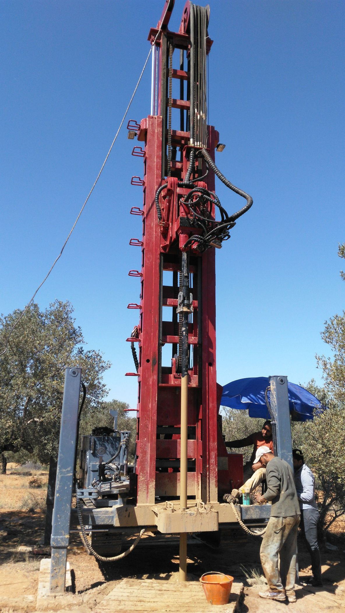 drilling of forward r4 water well drilling rigs in china