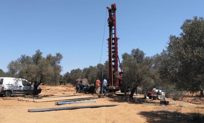 Drilling of FORWARD RС4 Water Well Drilling Rigs in China