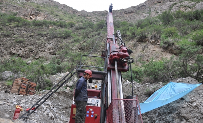 FORWARD C5 Coring drill rig for exploration in Xinjiang, China